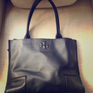 Tory Burch pebbled leather tote